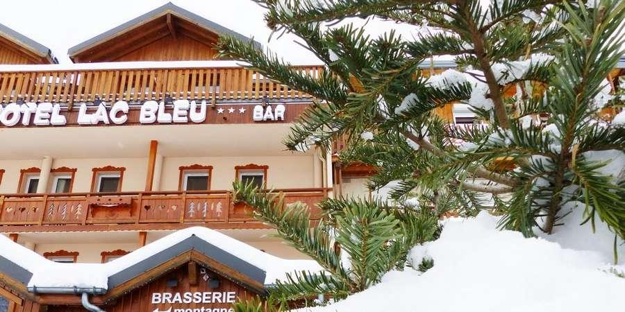 Hôtel Restaurant Le Lac Bleu (Grand Domaine, Valmorel, Saint François Longchamp)