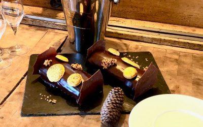Recette de la bûche de Noël Ganache Chocolat Passion